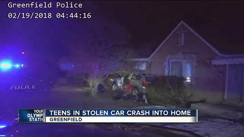 Greenfield Police arrest Milwaukee teens in stolen car for second time