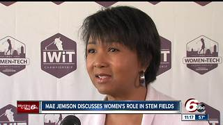 Mae Jemison discusses women's role in STEM fields - Video