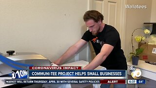 Communi-Tee project helps small businesses