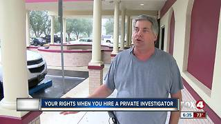 What are your rights when hiring a private investigator? - Video