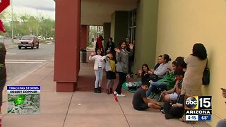 Black Friday shoppers line up for deals