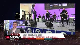 Channel 7 Family Day at the Auto Show
