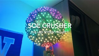 Mechanical Engineer Creates Fun LED Display - Video