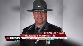 Gaspar found not guilty of vehicular homicide - Video