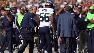 Pete Carroll Says Cliff Avril And Kam Chancellor May Not Play Again - Video