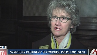 KC Symphony Designers' Showhouse preps for event - Video