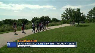 Sharp literacy kids view life through a lens - Video