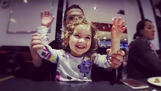 Doting Dad Has Daughter in Fits of Giggles - Video