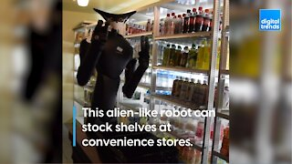 Convenience Store Robot Worker