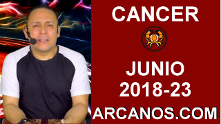 HOROSCOPO CANCER-Semana 2018-23-Del 3 al 9 de junio de 2018-ARCANOS.COM - Video