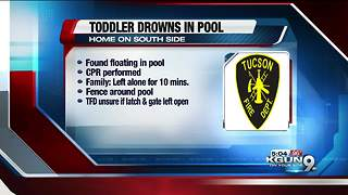 2-year-old boy drowns in southside pool