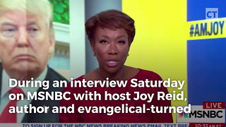 MSNBC Guest Makes Vile Remarks About Evangelicals