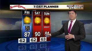 First Alert weather for Oct. 5 - Video