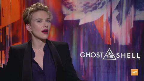 """Scarlett Johannsson's life on and off set of """"Ghost in the Shell"""" 