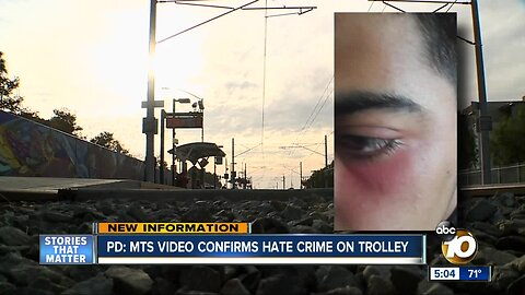 Police say MTS video confirms hate crime on trolley