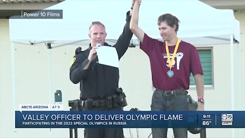 Paradise Valley officer to represent AZ in Special Olympics World Games in Russia