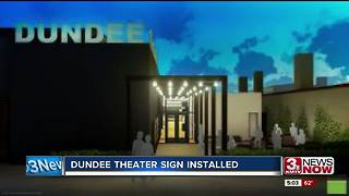 Dundee Theater sign placed on iconic building - Video