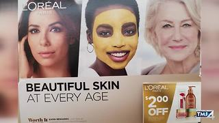 L'Oreal ad in Wisconsin store sparks criticism - Video