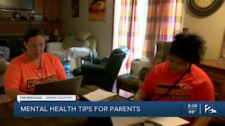 Mental health tips for parents