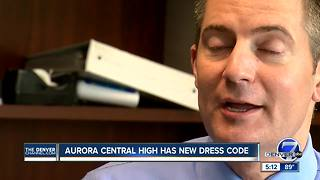 Aurora Central HS students react to stricter dress codes for 2017-18  school year - Video