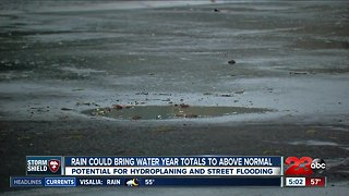 Incoming rain could bring totals above water year averages