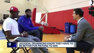 Andre Drummond and Reggie Jackson call last Pistons season a nightmare - Video