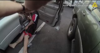 RAW VIDEO: Man tased 11 times by Glendale police officers during traffic stop