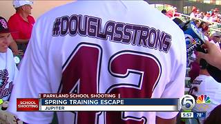 Spring training escape - Video