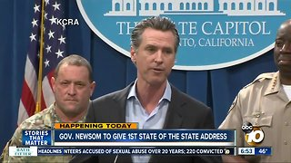 Newsom to deliver first State of the State address