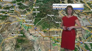 A cold, blustery Friday across all of southern Idaho