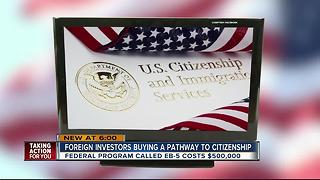 Foreign investors buying a pathway to citizenship - Video