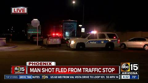 Man hurt, woman in custody after officer-involved shooting in Phoenix