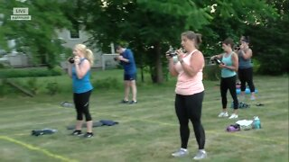 Rise fitness bringing workout classes outdoors