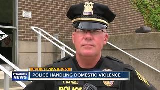 Domestic violence through the eyes of police - Video