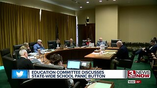 Education committee discusses state-wide school panic button