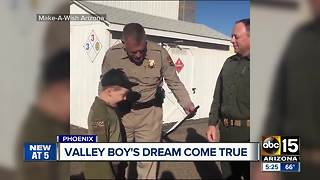 DPS helps make dreams come true for young cancer patient - Video