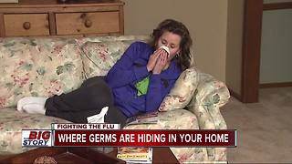 Where germs are hiding in your home