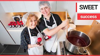 Teenager builds successful jam business using his gran's recipes