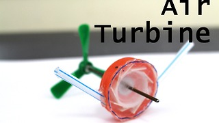 How to make a compressed air turbine