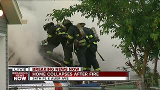 BREAKING: Fire officials give update on house fire on Milwaukee's north side - Video