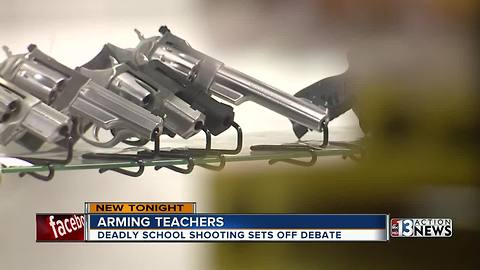 Teachers are divided over carrying guns on campus