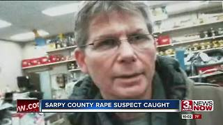 Sarpy County rape suspect's capture a relief to area residents - Video