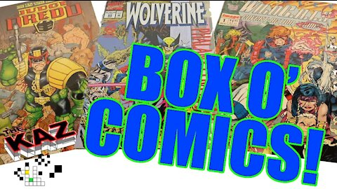 What Comics Do I Have in the Box O' Comics?