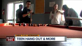 Liberty Township teen center gives students a place to go after school - Video