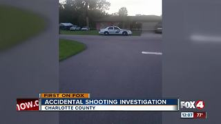 Accidential Shooting Investigation - Video