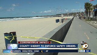 County sheriff to enforce safety orders