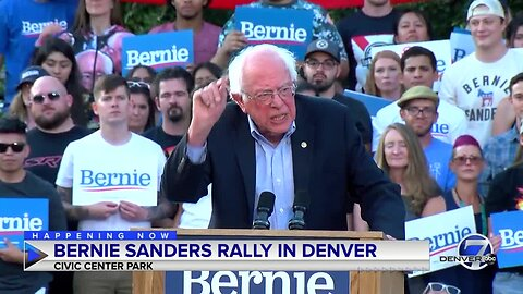 Full video: Sen. Bernie Sanders rallies in Denver