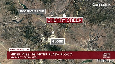 Gila County Sheriff's Office: Hiker missing after flash flood in Tonto National Forest