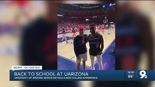 UArizona senior details a new college experience