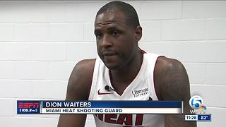 Miami Heat players discuss NFL protests over President Trump's comments - Video
